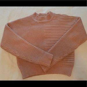 NWOT Bebe Pink Knit Sweater